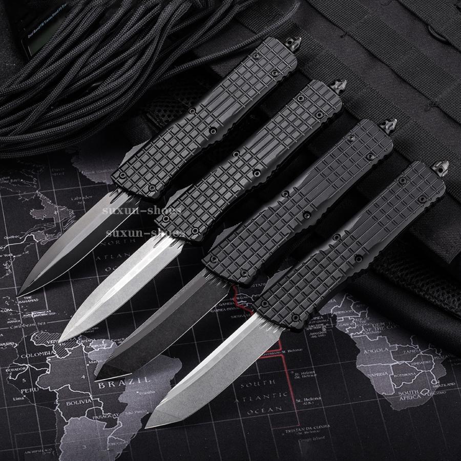 9.7inch faca automática CNC T60161 Handle VG10 Steel Blade Hight Qualidade UTX70 UTX85 BM3300 A07 A162 BM330 Camping Tactical Bolso Dobrável Ferramenta de corte rápida