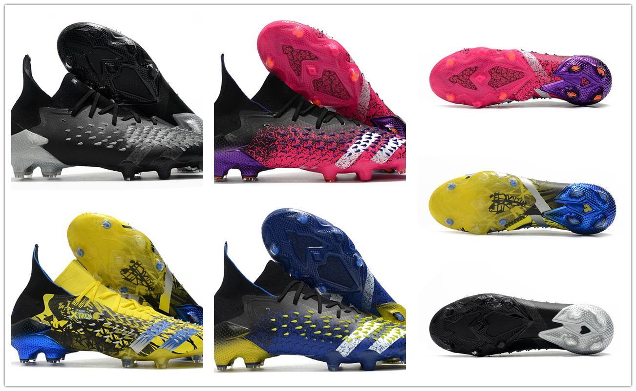 High 2021 homens predador freak 1 fg sapatos de futebol yakuda local loja on-line dropshipping aceitou futebol treinamento tênis melhores esportes popular atacado botas mensagens