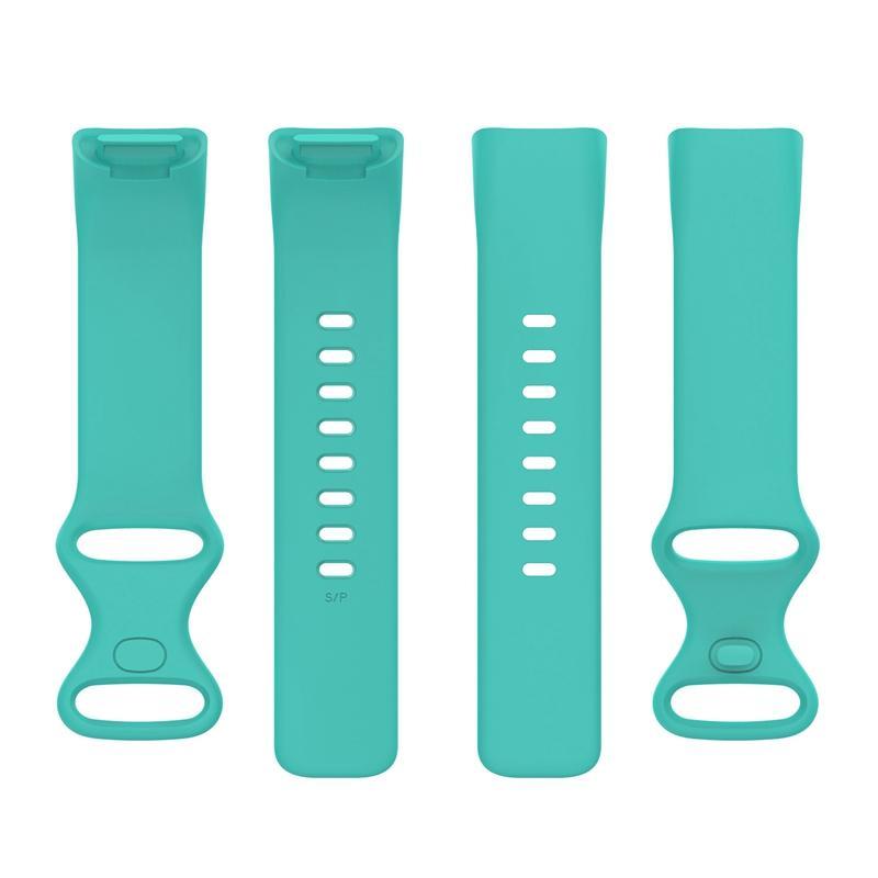 Zachte siliconen vervangingsbanden polsband armband draagbare riem strap voor fitbit laad 5 20pcs / lot