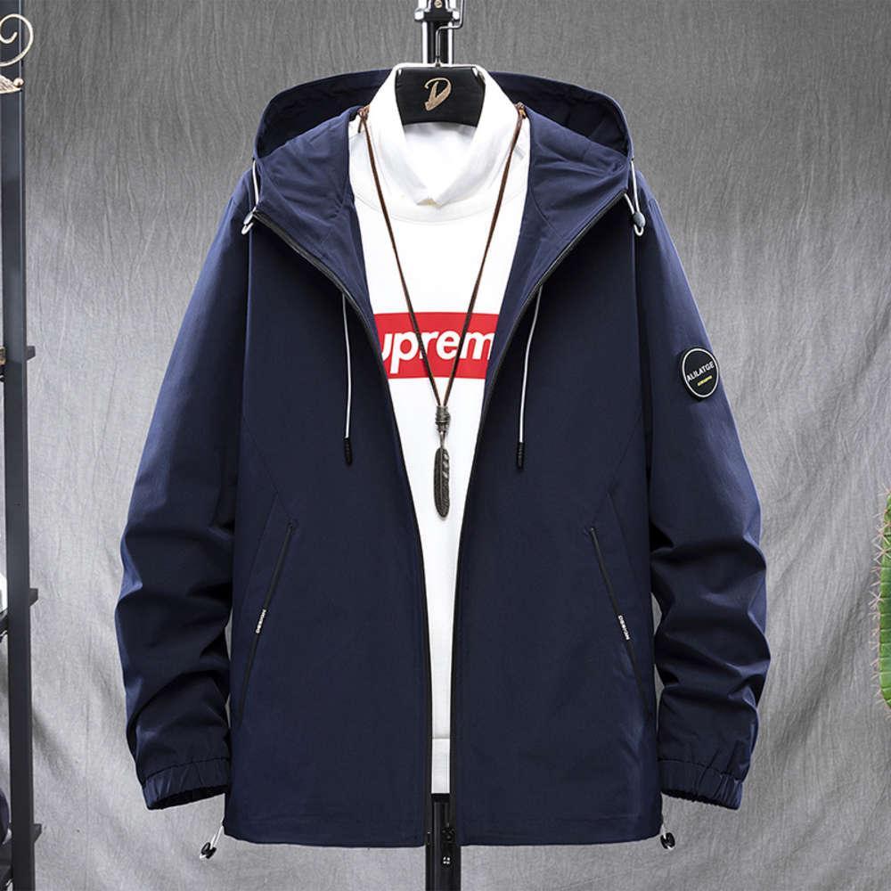 Novo Outono Juventude Outdoor Hoodie Jaqueta Masculina Lazer Coreano