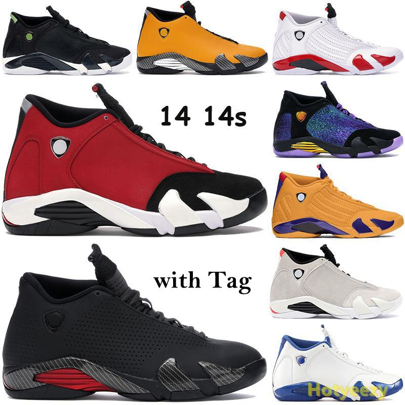 Nuovi 14 14s scarpe da basket Doernbecher formatori multi-colore nere sfidano grafite Red 2005 ultimo colpo candy cane scarpe da tennis degli Stati Uniti 7-13