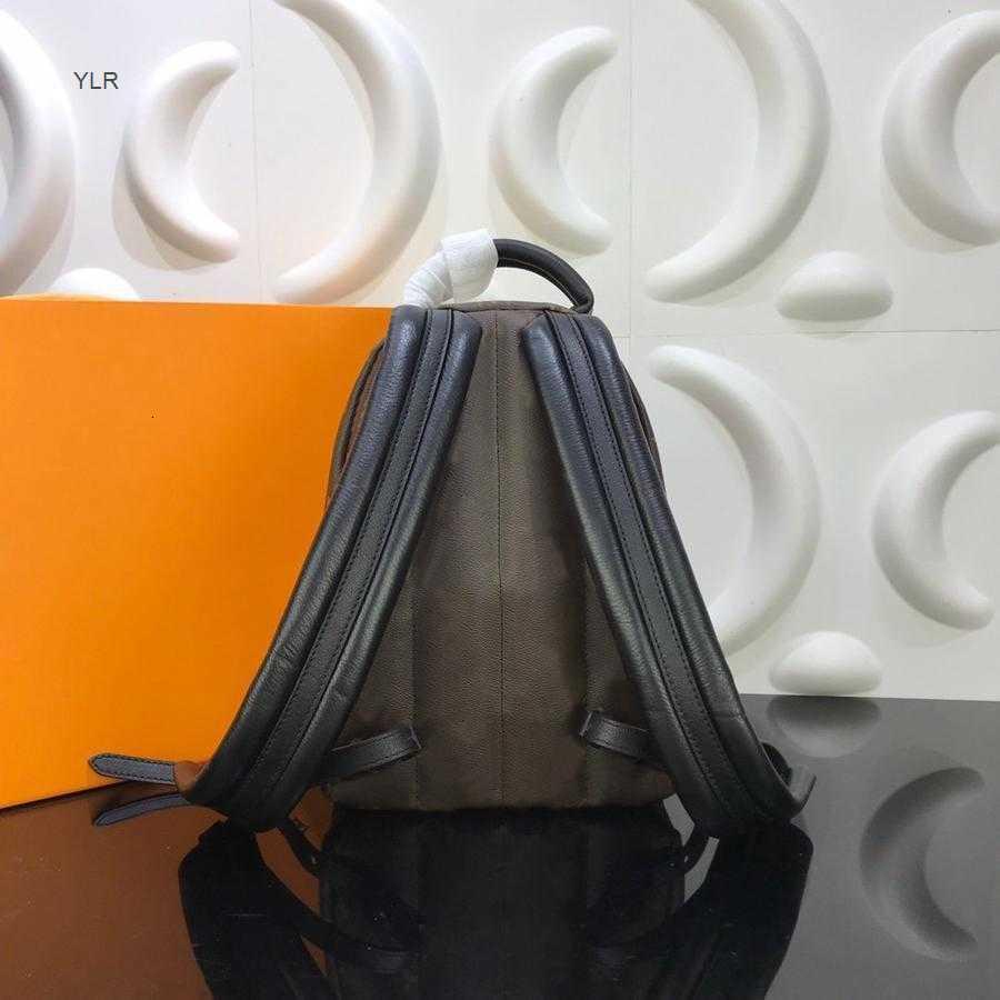 Мини Роскошный Рюкзак Женщины Высокая сумка Мода Дизайнер Натуральная Кожа Унисекс Высочайшее Качество Камуфляж Картина Браун ОБХБ