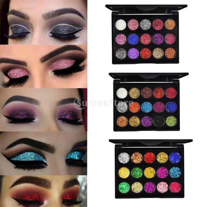 Eye Shadow Professional 15 Colori Diamond Scintillio Scintillio Eyeshadow Palette cosmetico