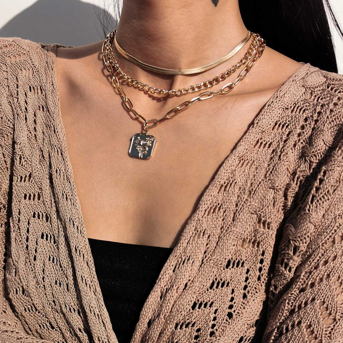 Простая кисточка Cross Snake Chain Price женская мода Rose Relize Set ожерелье