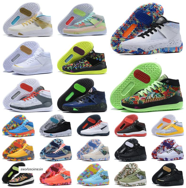 Nouveau Kevin Durant XIII KD 13 13S Mens Multi-Color KD13 Baskets Zoom Basketball Chaussures Elite Sport Sneakers US 7-12