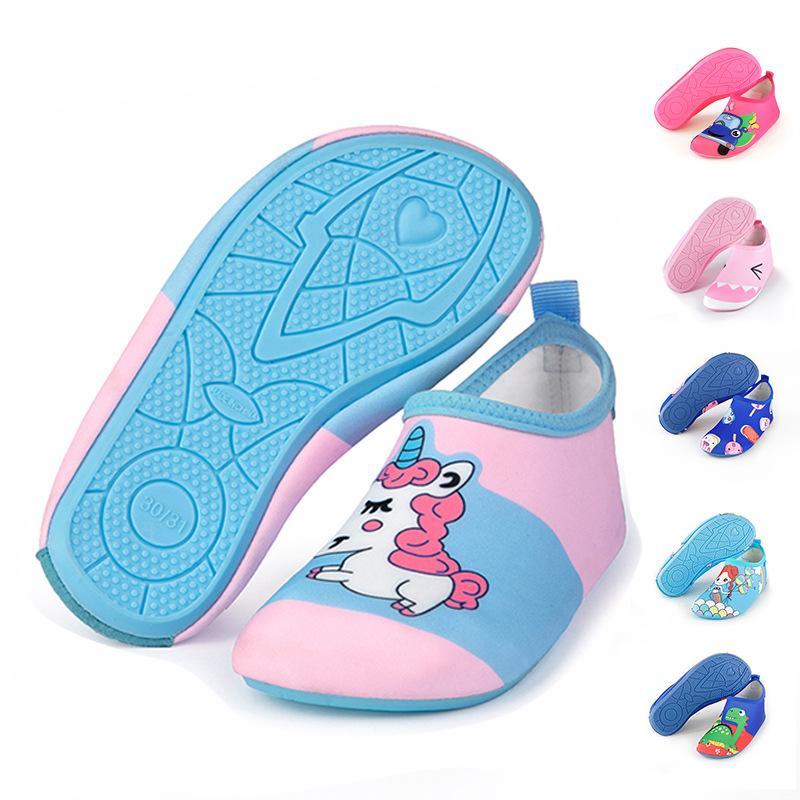 Calcetines para niños Calcetín de rosa de agua Zapatos de bota de buceo seco antideslizante Buceo de buceo Agua Deportes de agua Calcetín de playa Natación Surf Surf Moje traje zapatos