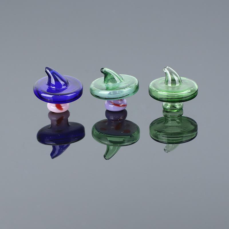 Dôme de style de chapeau de carbin pour quartz Thermal Banger Nails Bongs Bongs DAB Huile Plateau DHL OU UPS