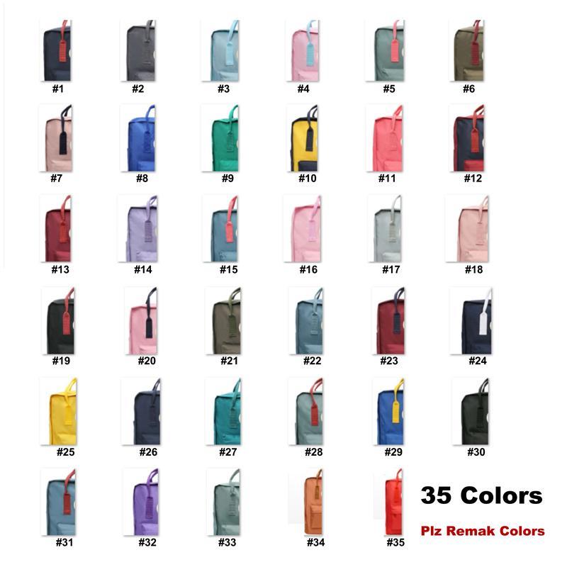 드롭십 35colors 야외 가방 소녀 Unisex 스포츠 여행 배낭 여성 대용량 가방에 대 한 십 대 배낭