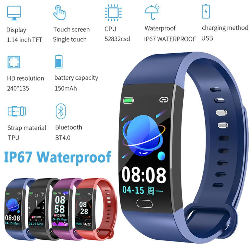 New Arrived RD11 Mini Smart Bracelet Phone Sleep-Monitoring Heart-Rate-Detection Waterproof IP67 Sport Bluetooth Bracelet Smart Accessories