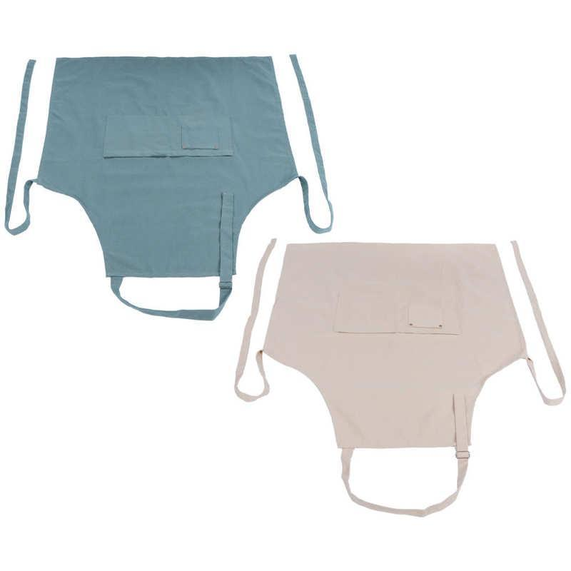 앞치마 민소매 앞치마 주방 용품 소프트 및 질감 편리한 가정용 포장 된 디자인