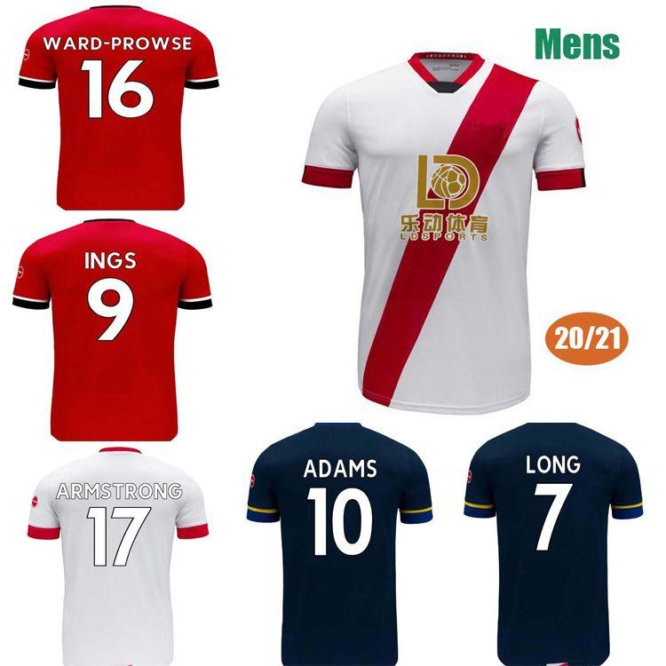 Promoção2021 Long Igs Adams Redmond Djenopo Stephens Hojbjerg Armstrong Dosw-Prowse Soccer 20 21 Camisa de Futebol Adulto