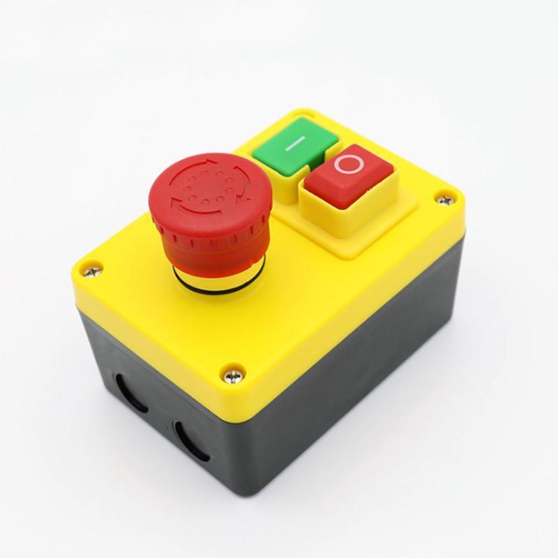 Smart Home Control KJD17 D-2-Drehmaschine ENTERT-Taste Universal-Schalter Isolationsmühle-Bohrer einfach installieren Kunststoff Stop Start Holzbearbeitung Push