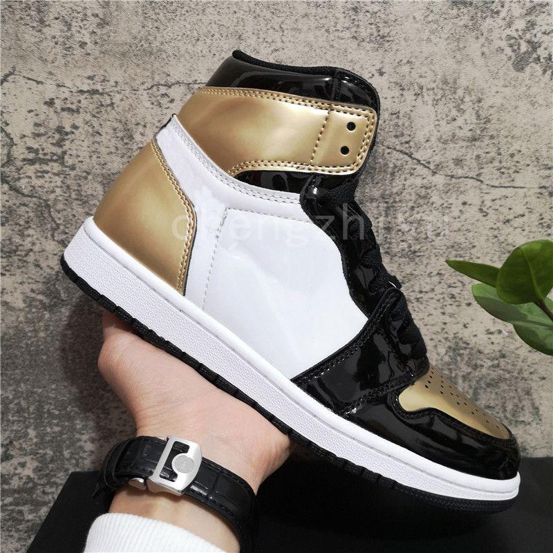 En Kaliteli Jumpman 1 1 S Yüksek Travis Korkusuz Obsidiyen UNC Ayakkabı Erkek Bayan Basketbol Ayakkabı Yasaklanmış Bred Toe Chicago Erkek Kız Koşu Sneakers