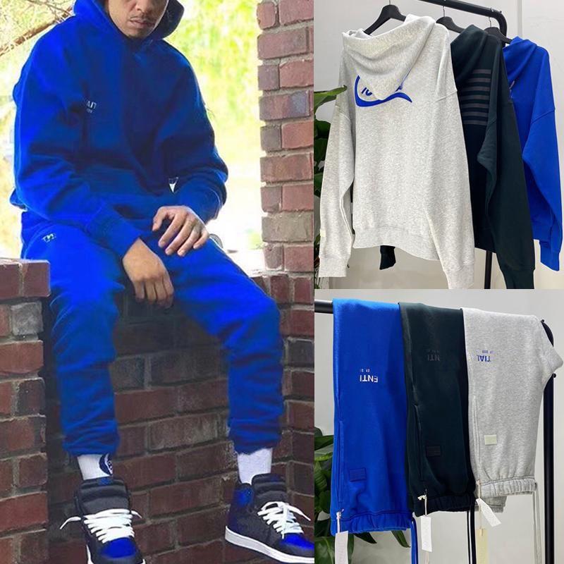 2021 Новое поступление костюма Crenshaw Limited Hoods Ffulspants повседневная флизерованные брюки толстовки верхняя нижняя хип-хоп улица