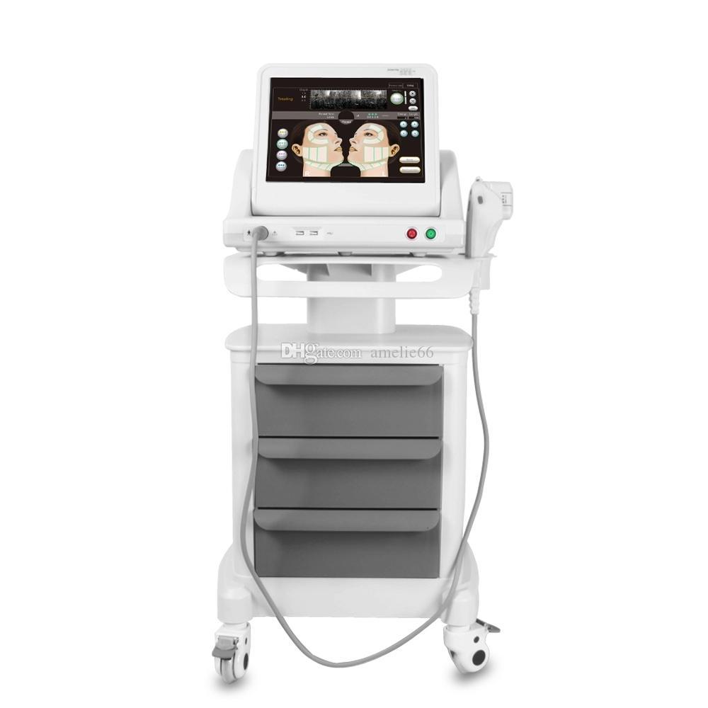 HIFU 고강도 집중 초음파 HIFU 얼굴 리프트 머신 주름 제거 5 개의 머리를위한 5 개의 머리와 신체 무료 배송