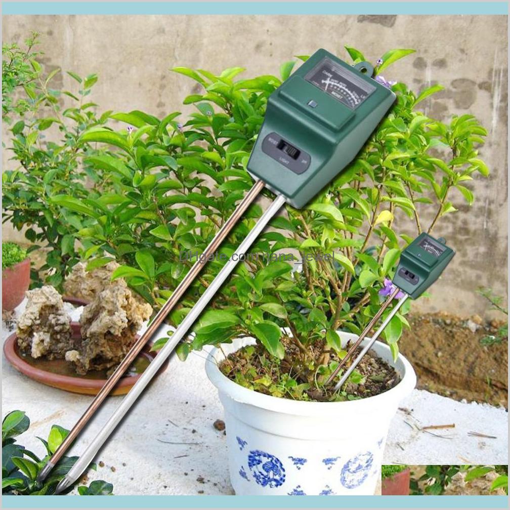 Arrival 3 In 1 Ph Tester Soil Detector Water Moisture Humidity Light Test Meter Sensor For Garden Plant Flower Cxaht Lzxcu