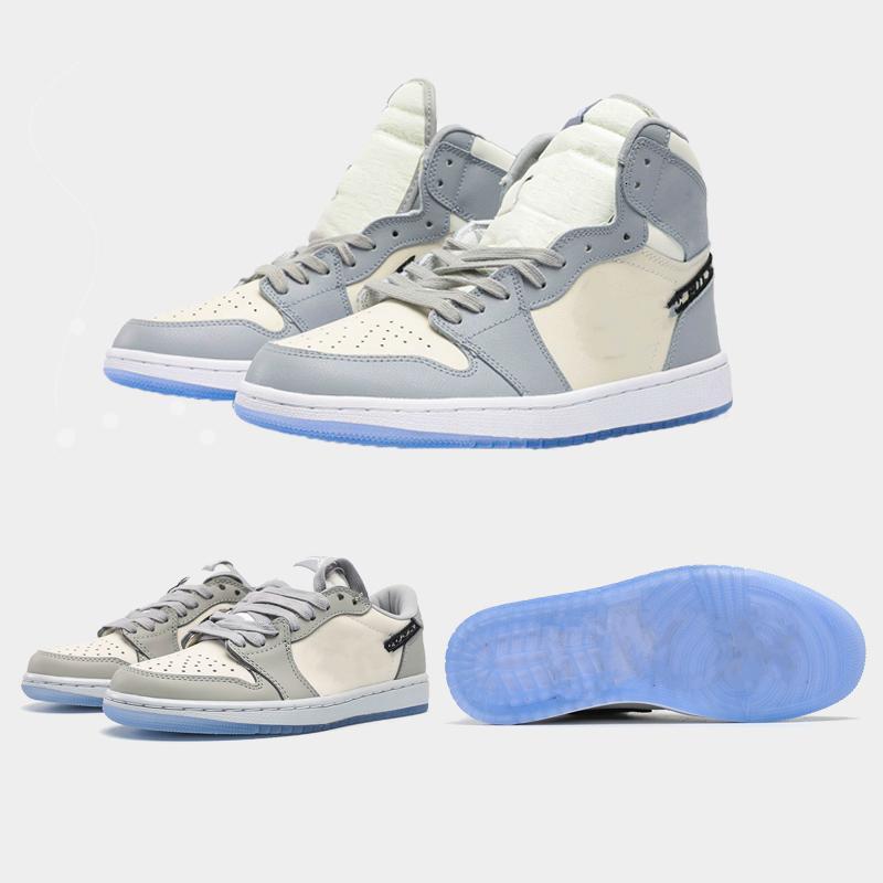 2020 Zapatos de baloncesto Jumpman 1 35 aniversario Sneakers Tropical Light Basketball Zapatillas deportivas Zapatillas de deporte Skateboard Shoes