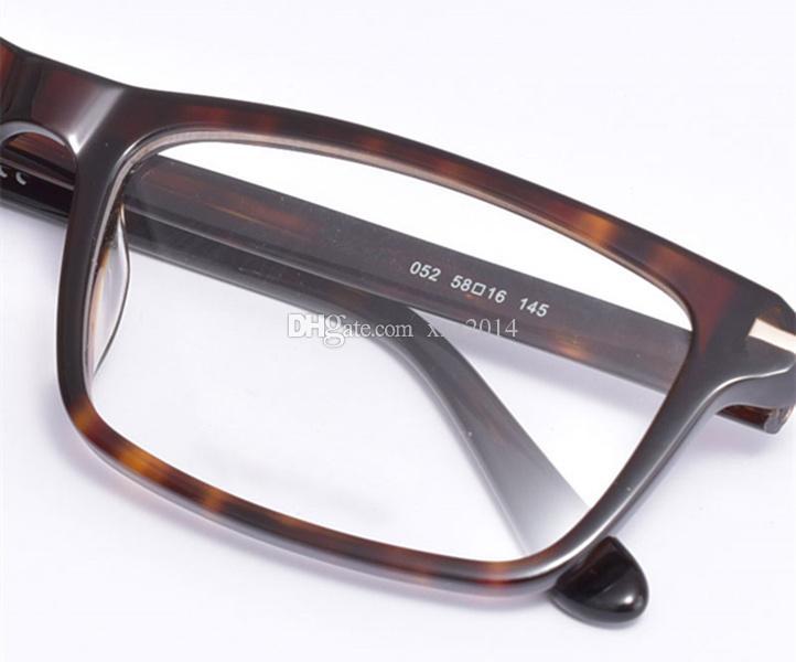 حار جودة موجزة صغيرة مستطيلة للجنسين الإطار نظارات عادي 58-16-145 المستوردة الخالصة الخالصة خفيفة الوزن وصفة fullupet box 5408C