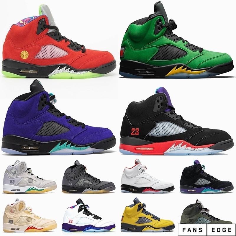 Quais são os 5 2020 Jumpman 5 Uva Alternada 5s Oregon Ducks Retro Mens Womens Basketball Shoes off Sail Fire Red Travis Sneakers Trainers