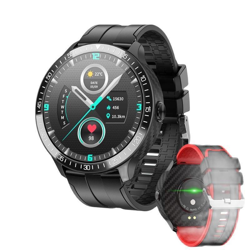 Smart Watches SOS Call PASSWORD PASSWORD Lock Temperatura Delection Fashion Mt16 Guarda le donne Uomo Polso Smartwatch Ore orologio M5