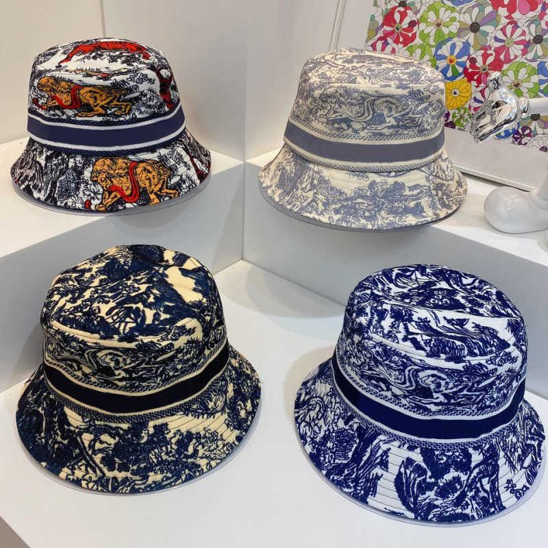Bucket Hat Designer Mens Beanie Caps Gorra de béisbol para mujer Casual Casual Pure Cotton Letra Moda Sandy Beach Sun Caps 7 Color Alta calidad