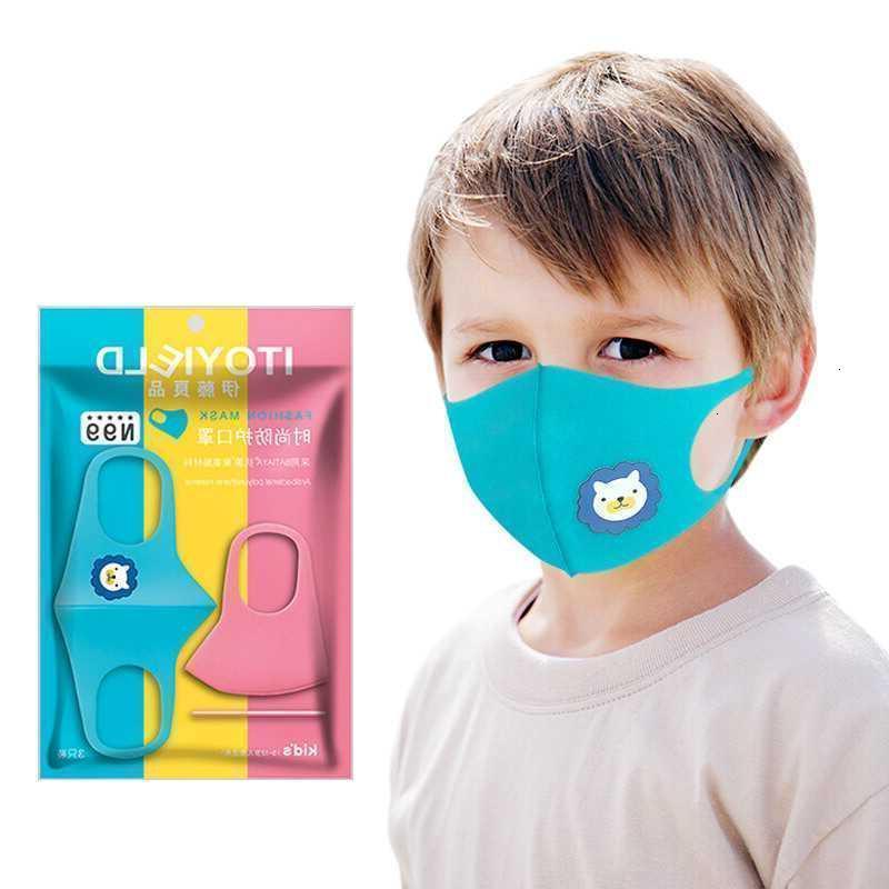 Anti ITO Хорошая маска для пылезащитный PM2.5 Haze-Projected 3PCS (моющиеся) Детские милые мужские и женские моды моды1