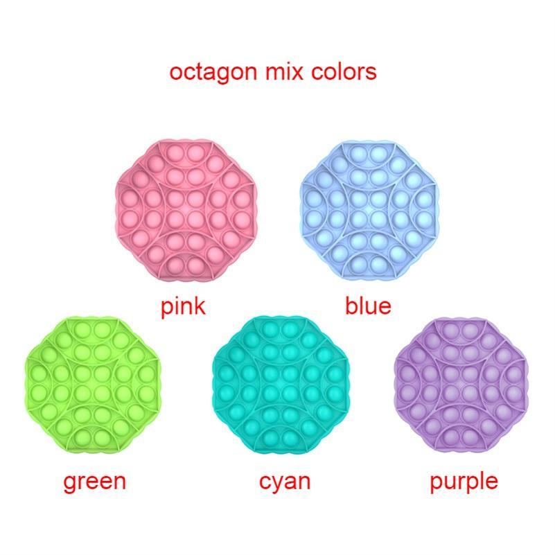 Bang-Entlastung IT-Stress-Spielzeug Go-Erwachsene sensorische sensorische Pop-Bubble-Board-Spiel-Push-Pop-Push-Fidget-Spielzeug Kinder-Autismus-Angst DHB5304 MIXXS