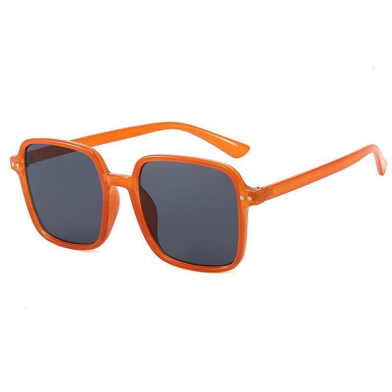 2020 Moda Gafas de sol Anti Blue Myopia Frame Net Red Plain Face Hombres Versión Coreana Versión Plana Luz Matchin