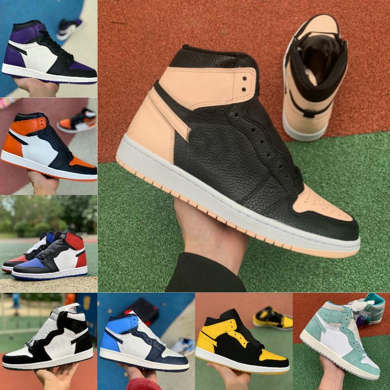 2021 جديد 1 1 ثانية أحذية كرة السلة الرجال النساء الخوف crimson تينت شيكاغو شيكاغو شظية jobsian الصاعد من السنة الملكي الأزرق والأحذية الرياضية