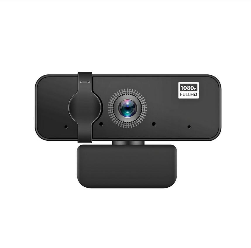 1080P Full HD Webcam with Built-in Microphone and Protective Cover USB Auto Focus for PC Notebook WebCamera Video Recording Work