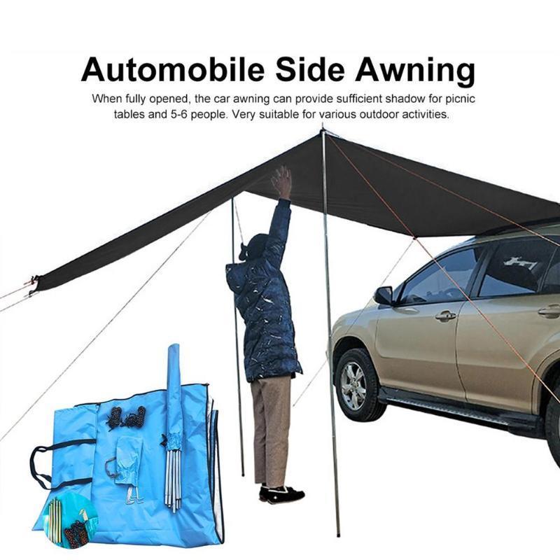 Tendas e abrigos de carro toldo telhado chuva chova sol vela sombra ao ar livre auto barraca auto-condução de turismo de passeio abrigo de extensão