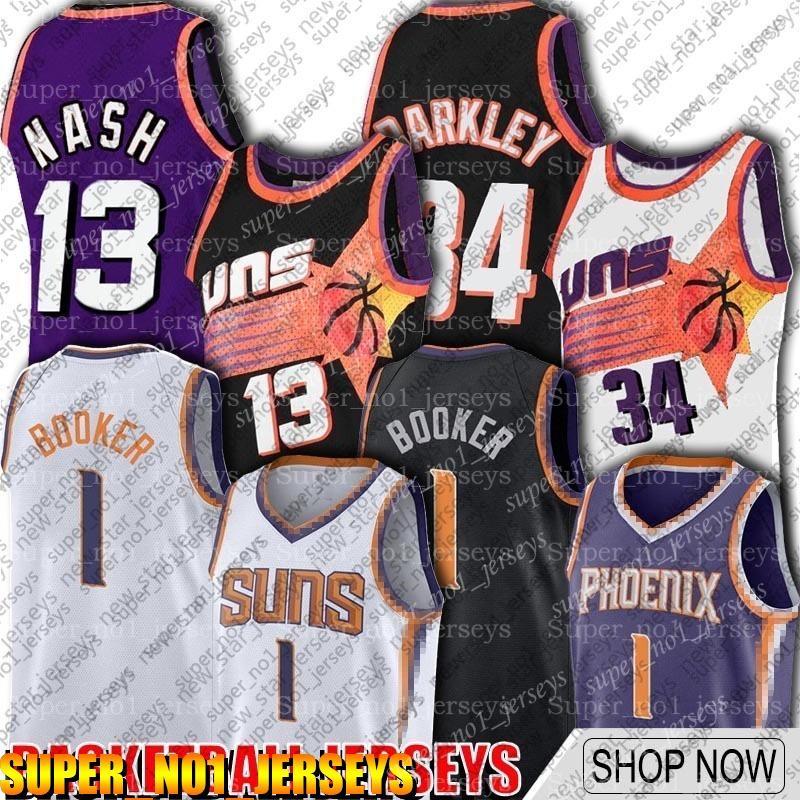 Devin 1 Booker Jersey PhoenixSóisJerseys Chris 3 Paul Jerseys Rindo Steve Charles Nash Barkley Jersey ASD651ZXV9515