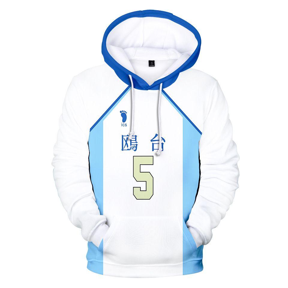 Anime Haikyuu Korai Hoshiumi Cosplay Hoodie Women Men Harajuku Sweatshirt Streetwear Hip Hop Pullover Hooded Jacket Sportswear