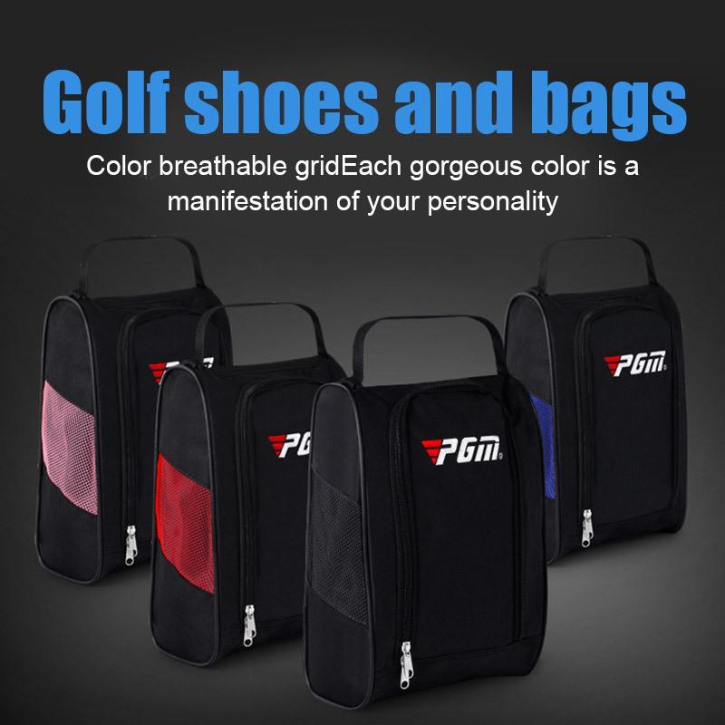 PGM golfe esporte sapatos saco ar permeável luz pacote de viagem à prova d 'água saco de sapata dustproof homens mulheres poeira sapata saco l0302
