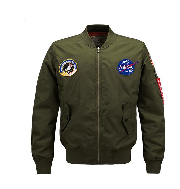 캐주얼 공군 비행 자켓 남자 플러스 크기 8XL 폭격 재킷 남성 최고 품질 폭격기 겉옷 간결한 2021 따뜻한 windproof eamembroidery 코트