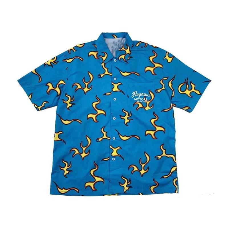 Männer Golf Flamme Le Fleur Tyler The Creator Baumwolle Beiläufige Hemden Hemd Hohe Qualität Tasche Kurzhülsen Top M 2XL # AB4 210721