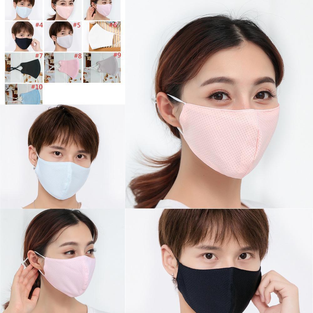 Защитные шелковые взрослые летние моды лицо ледяной маску солнцем анти пыль ультрафиолетовые маски WDOT