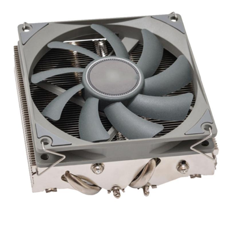 Fans Kühlungen AXP90 Reine Kupfer-CPU-Kühlerlüfter 4-Röhre 47mm kleines Chassis Itx nach unten Druck