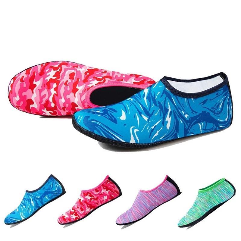 Niños agua rosa calcetines hombres mujeres aqua playa zapatos seco bota zapatos de bote de buceo calcetín deportes de agua surfear zapatillas zapatillas para hombres zapatillas zapatillas