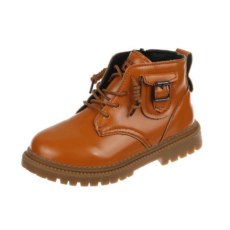 Kikids Shoes Boys Sneaker Boys Girl Sneaker 2021 Primavera Otoño Zapatos Niños Niños Bebé Botas suaves Gancho Caminata Niño Botas de invierno