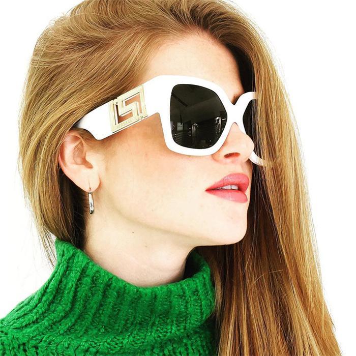Alta Qualidade VE 4402 Medusa Marca Designer de óculos de sol óculos de madeira para homens mulheres moda búfalo óculos de sol com caixa caixa