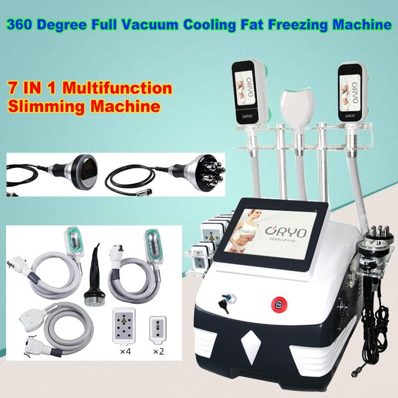 Best Lipo Cold Fat Freezing 360 Cryolipolysis Slimming Machine Cavitation RF slim Beauty Equipment for Beauty Salon