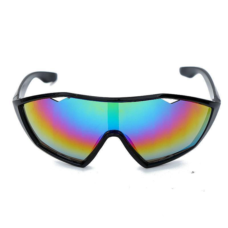 Солнцезащитные очки Мода Ветрозащищенное Зеркало для защиты глаз 2021 Будущие Очки Наружные Вождение Очки Солнцезащитные Очки Унисекс UV400 FML