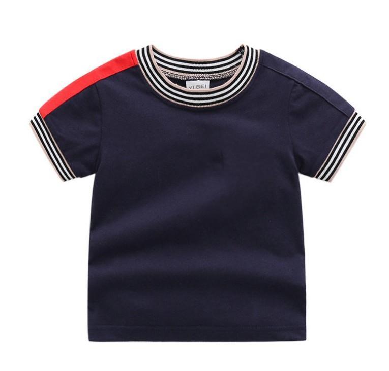 T-shirt à manches courtes en coton de grande qualité