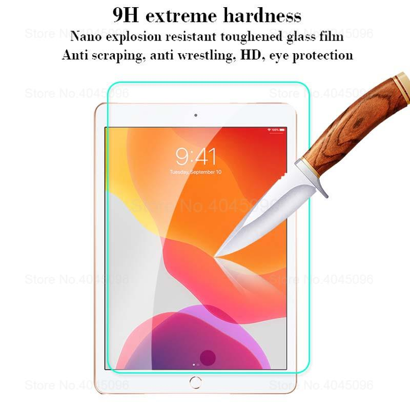 Tempered Glass for iPad 10.2 2019 Screen Protector for iPad 7 7th Generation Tablet Protecor Glass Film