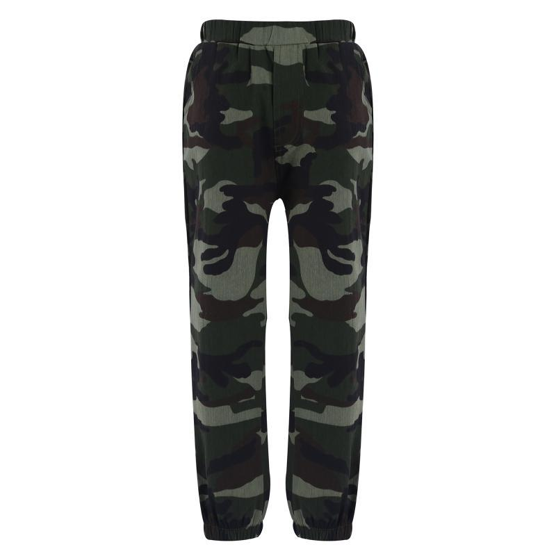 Trousers 2021 Boys Camouflage Joggers Casual Cargo Pants For Kids Cotton Clothes Teenage Clothing 6-14 Years