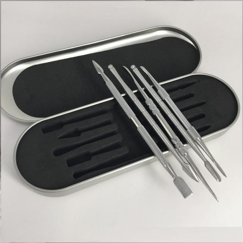 MOQ 1PC Dab Kit de ferramentas de cera vaporizador Vape para Seco Herb Ferramenta Ferramenta Kit Caneta De Vapor