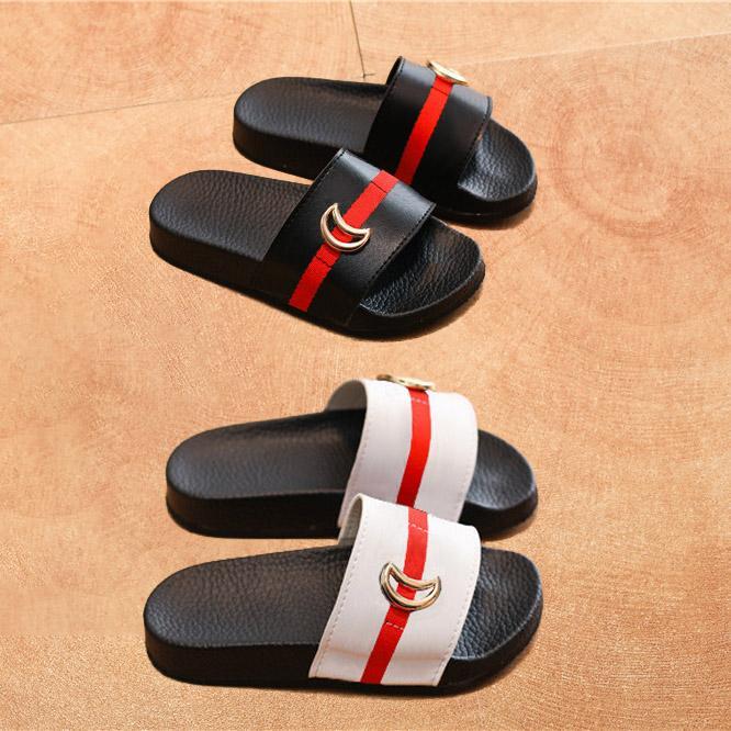 Kinder Hausschuhe Sommer Neue Jungen Sandalen Mädchen Strand Hausschuhe Schuhe Stress Stil Elternkind Hausschuhe