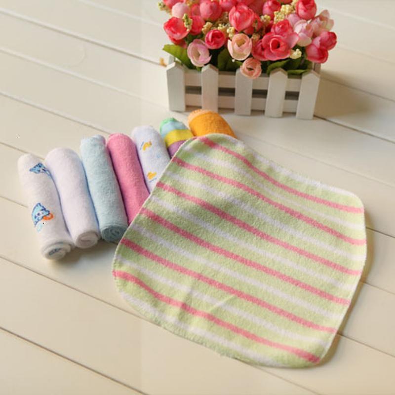 Bebê de 8 peças recém-nascido lavar banho de toalha alimentação limpa pano macio