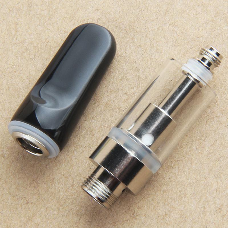 Empty Ceramic Tips Vape Cartridge Ceramic Coil 0.5ml 1ml Vape Cartridges Atomizer 510 Thread Thick Oil Dab Pen Wax Vaporizer